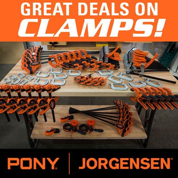 Clamp Sale
