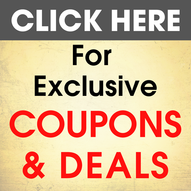 Exclusive Coupons and Deals