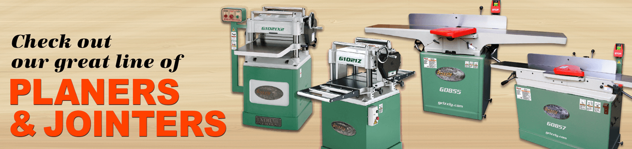 Planers and Jointers (mobile secondary)