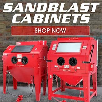 Sandblast Cabinets