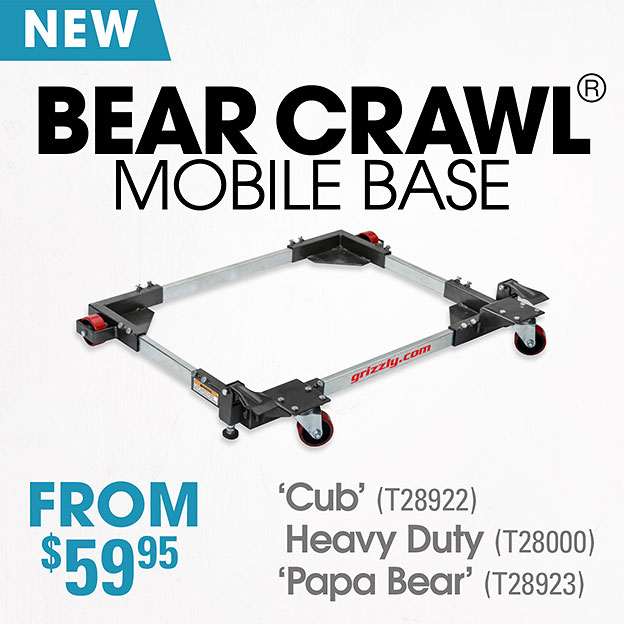 Bear Crawl Mobile Base
